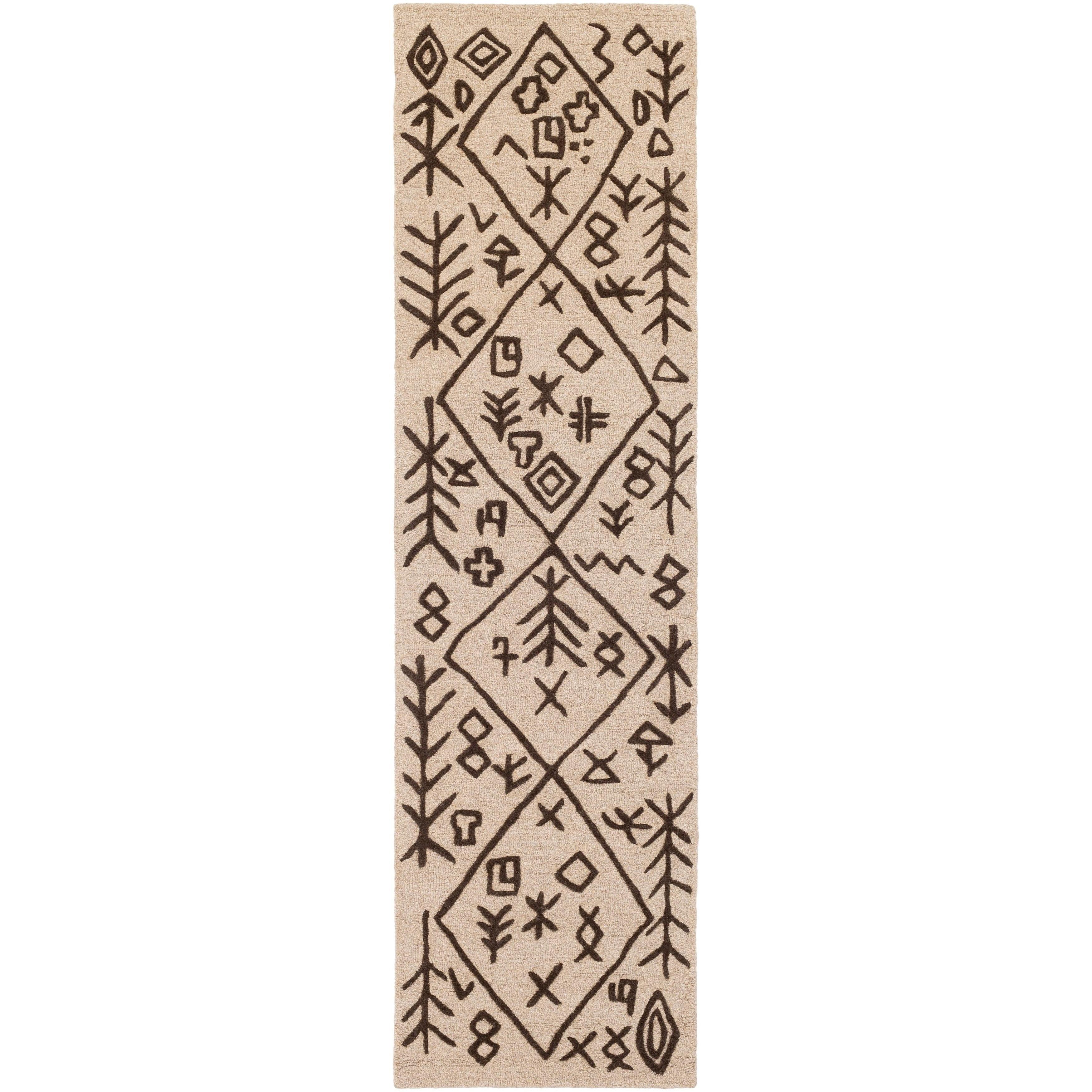 Surya Carpet, Inc. Hand-Tufted Track Wool Rug (2' x 8')