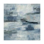 Trademark Fine Art 'Clear Water Indigo and Gray' Canvas Art by Silvia Vassileva