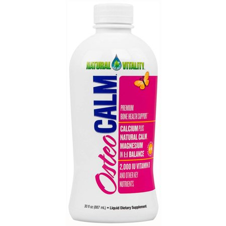 Natural Vitality Osteo Calm Premium Bone Health Support  30 Fl Oz