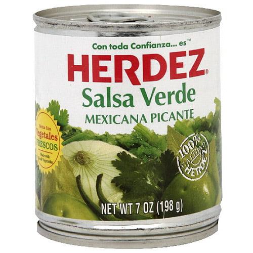 Herdez Verde Salsa, 7 oz (Pack of 12)
