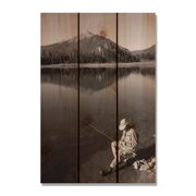 Day Dream HQ MS1624 16 x 24 in. My Space Inside & Outside Cedar Wall Art