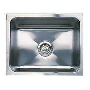"Blanco 440290 Magnum 18"" X 21"" Single-Basin Stainless Steel Undermount Residential Kitchen Sink, Satin"