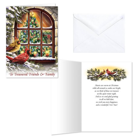 Treasured Friends Christmas Card Set of 20 ()