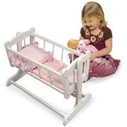 Badger Basket Heirloom Doll Cradle - Fits Most 18 Dolls   My Life As