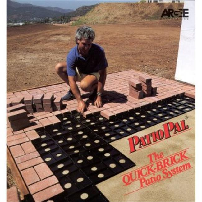Argee Corp RG191 3.88 in. x 8 in. Patio Pal Brick Laying Guides
