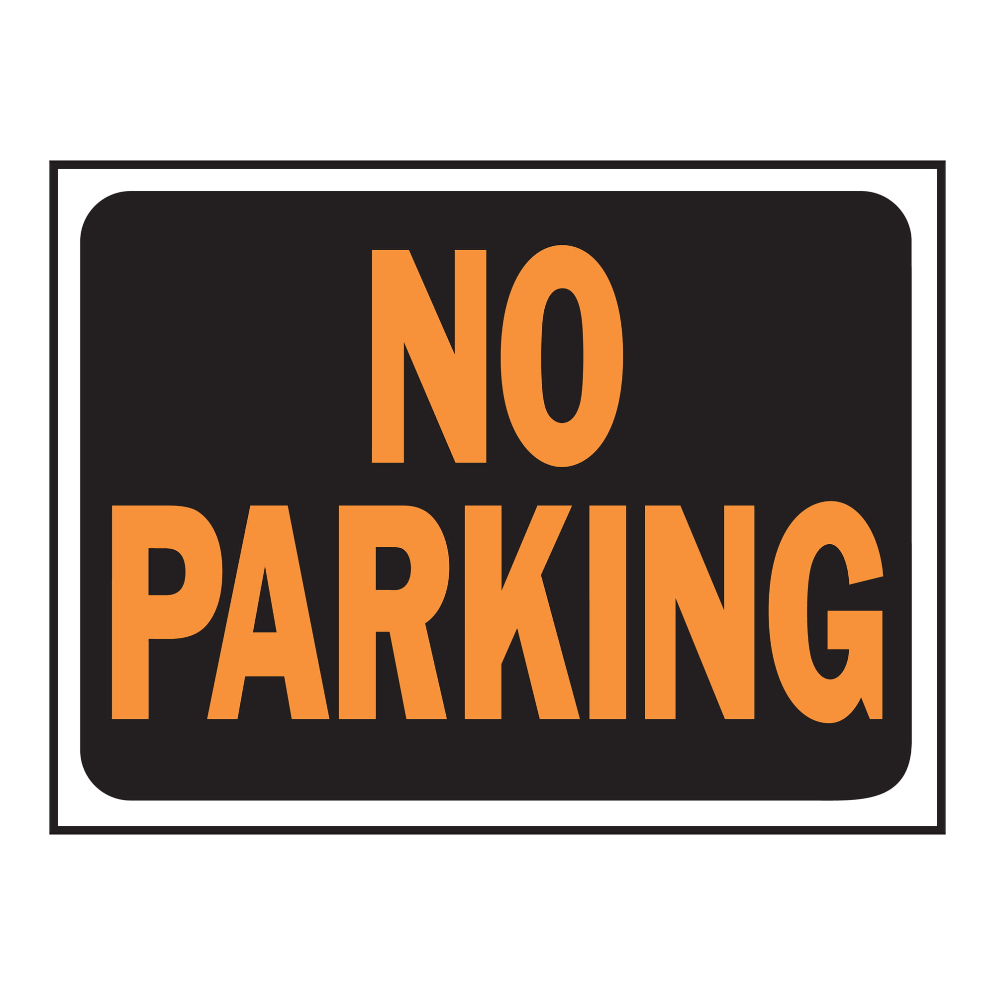 No Parking Sign by Generic