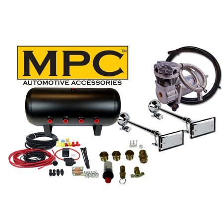Truck Horn Complete Package Dual 25