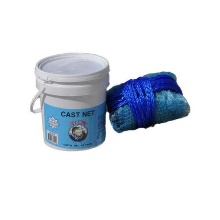 Joy Fish Cast Net - Mullet 6 Foot Radius ()