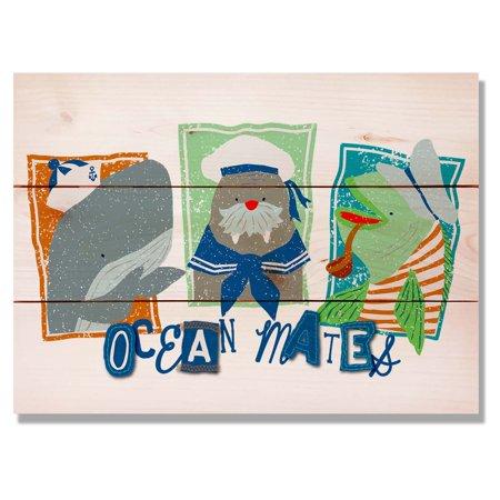 Daydream Three Ocean Mates Indoor Outdoor Wall Art