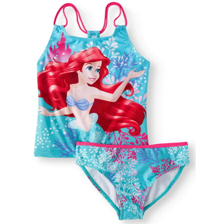 Ariel Mermaid Tankini Swimsuit (Little Girls & Big Girls)