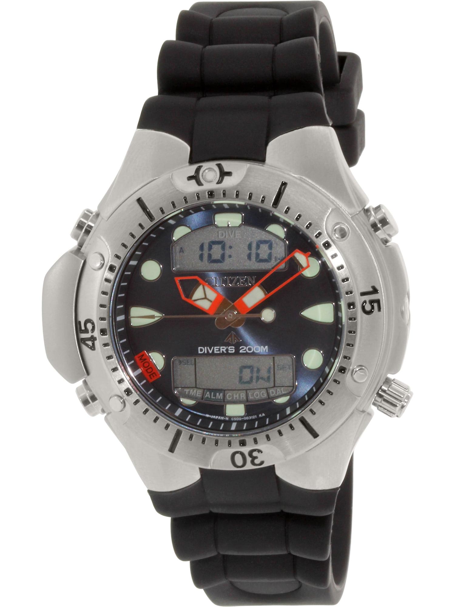 Citizen Men's Promaster JP1060-01L Black Silicone Quartz Diving Watch