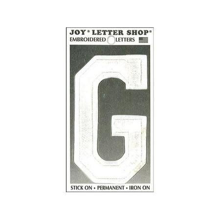 Iron Applique Letters - Joy Applique Letter Iron On Varsity 3