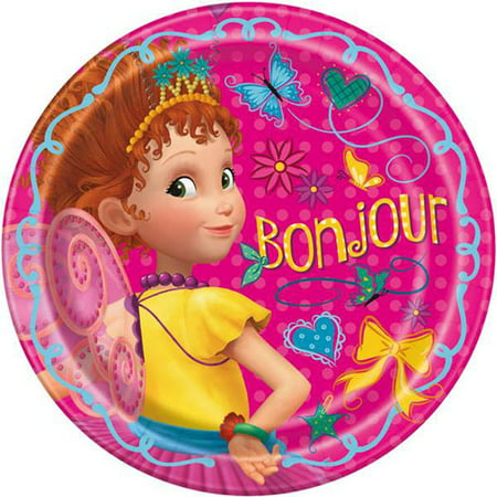 Fancy Nancy Large Paper Plates (8ct)](Fancy Paper)