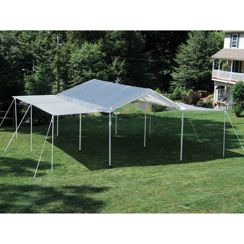 Max AP 10' x 20' White Canopy Extension Kit by ShelterLogic