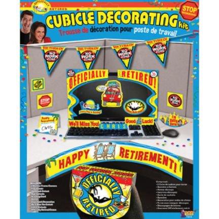 Retirement Party Cubicle Decorating Kit