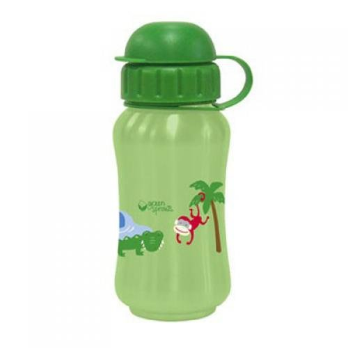 Green Sprouts Safari Stainless Steel Bottle