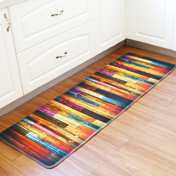 Kitchen Rug, Kitchen Floor Mats Anti Fatigue Comfort Heavy ...