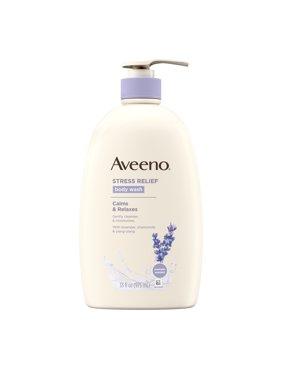 Aveeno Stress Relief Body Wash with Lavender & Chamomile, 33 fl. oz