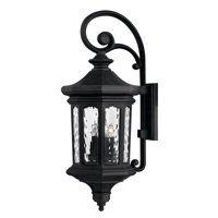 "Hinkley Lighting H1605 Museum Black Raley 4 Light 31-1/4"" Tall  Outdoor Wall Sconce"