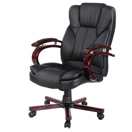 costway ergonomic desk task office chair high back executive