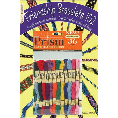 DMC Friendship Bracelets 102 & Prism Floss Pack-