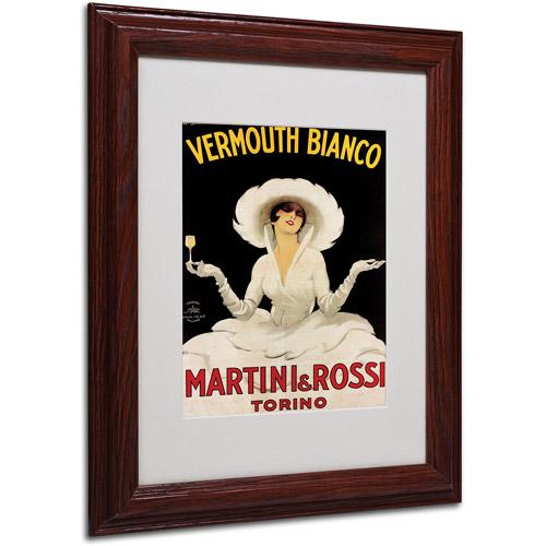 Trademark Fine Art 'Vermouth Bianco Martini & Rossi' Framed by Marcello Dudovich