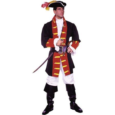 Morris costumes AC148MD Capt Hook Prince Suit Medium