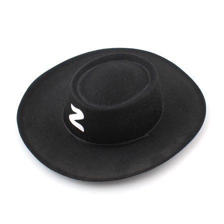 Kids Bandit Zorro Hat Halloween Costumes Party Hats