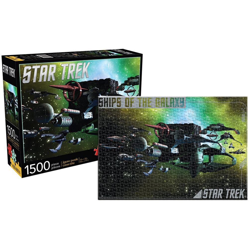Star Trek Ships of the Galaxy 1500 Piece Puzzle
