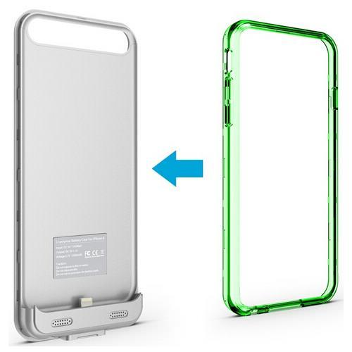 MOTA MT-AP6GR Green Extended Battery Case iPhone 6