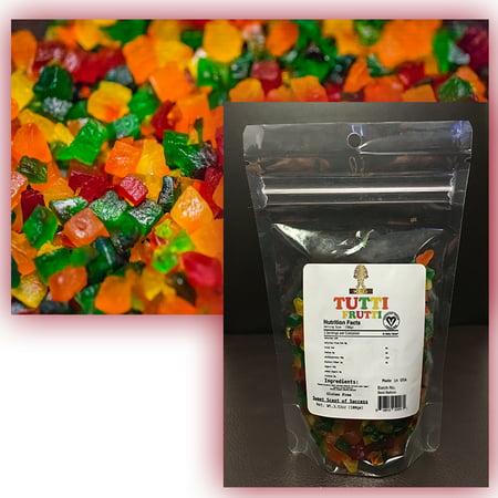 Tutti My Frutti (KLG Brand Tutti Frutti Real Fruit Based Gummy-Vegan and Kosher Certified. Gluten)