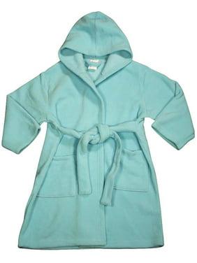 Pegasus Baby-Girls Fleece Robe Aqua / 9-12 Months
