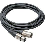 Hosa HXX-001.5 Pro Cbl Xlr3f Xlr3m 1.5f Cabl Rean Connector Xlr3f - Xlr3m 1.5ft