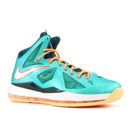 Nike - Men - Lebron 10 'Miami Dolphins' - 541100-302 - Size 8.5 - image 2 de 2