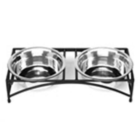 Pet Store Pros RDB9LL Raised Double Regal Diner Low- 3 Qt. (Regal Double Diner)