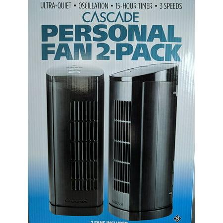 Cascade Personal Fan 2-Pack - NEW