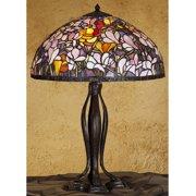 Meyda Tiffany 31146 Tiffany Glass Stained Glass / Tiffany Table Lamp From The Magnolia
