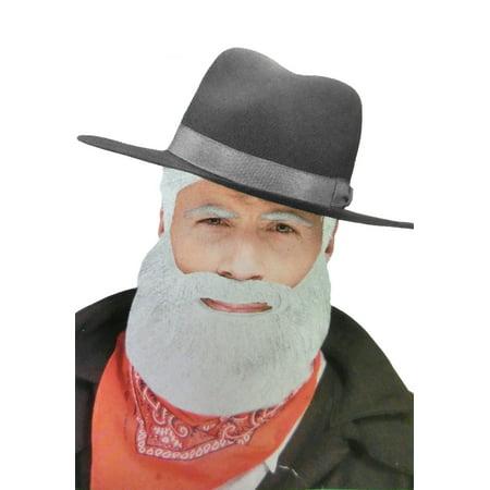 Adult Character Beard Santa Claus Albert Costume Accessory Beard Facial Hair