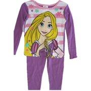 Disney Big Girls Purple Rapunzel Image 2 Pc Pajama Set 10
