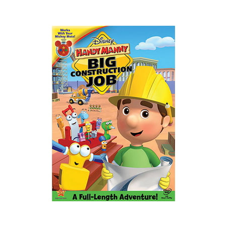 Playhouse Disney Handy Manny - Handy Manny: Big Constuction Job (DVD)