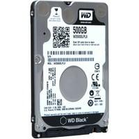"""Wd Black Wd5000lplx 500 Gb 2.5"""" Internal Hard Drive - Sata - 7200 Rpm - 32 Mb Buffer - Portable - Bulk (wd5000lplxsp)"""