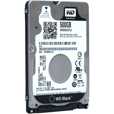 Wd Black Wd5000lplx 500 Gb 2.5