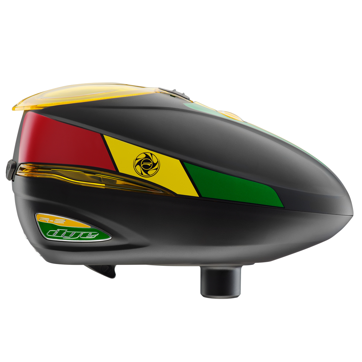 Dye Rotor R2 Paintball Loader Rasta by Dye Precision