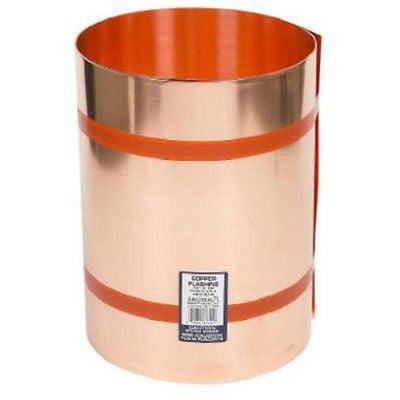 "Amerimax 67320 20"" X 10' Copper Roof Flashing"