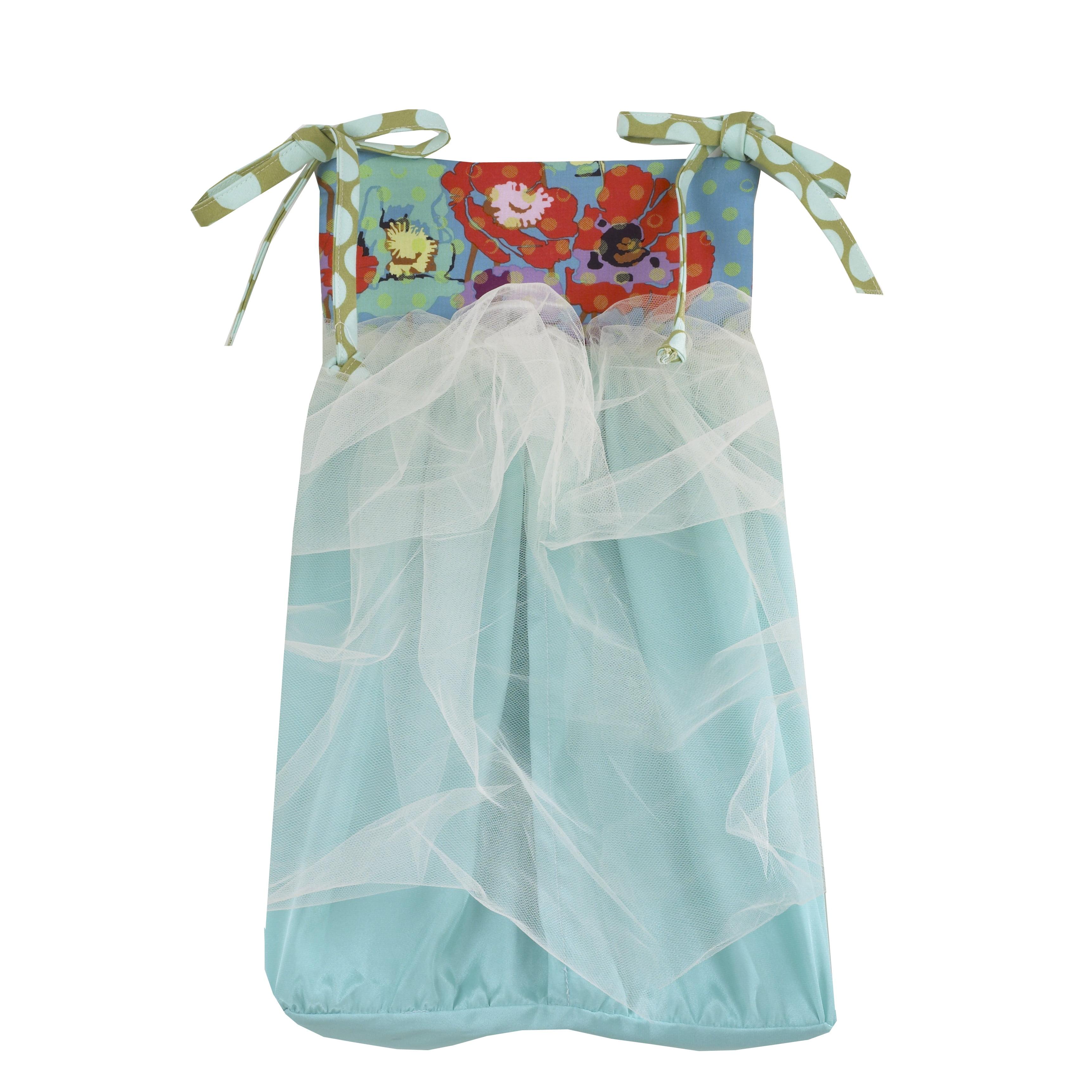 Cotton Tale Lagoon Multicolored Diaper Stacker by Cotton Tale
