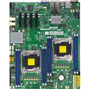 Supermicro X10DRD-iNT Server Motherboard Intel C612 Chipset Socket LGA 2011-v3 1 x Retail Pack Extended ATX 2... by SUPERMICRO - MOTHERBOARDS
