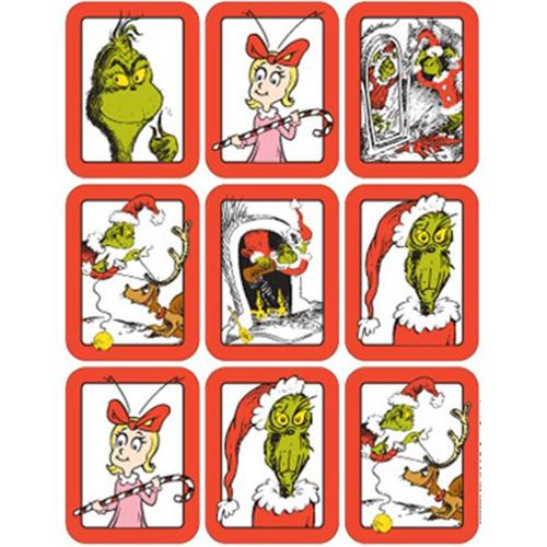 Eureka EU-650028 Dr.  Seuss The Grinch Giant Stickers