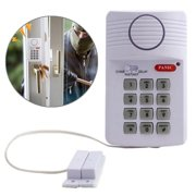 Security Keypad Door Alarm door alarm systems System With Panic Button For Home Shed Garage Caravan