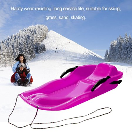 snow sled Outdoor Sports Plastic Snow Grass Sand Board With