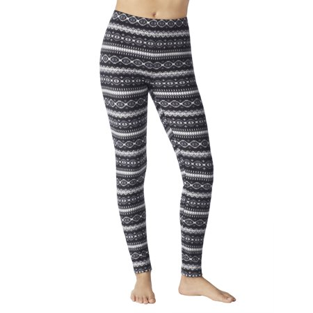 ca0a07db8c3bd ClimateRight by Cuddl Duds - Women's Stretch Fleece Warm Underwear Leggings  - Walmart.com